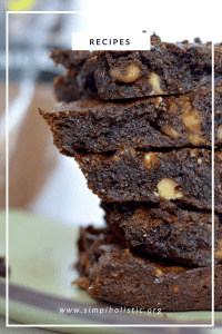 gluten-free brownies | paleo | refined sugar free | grain free