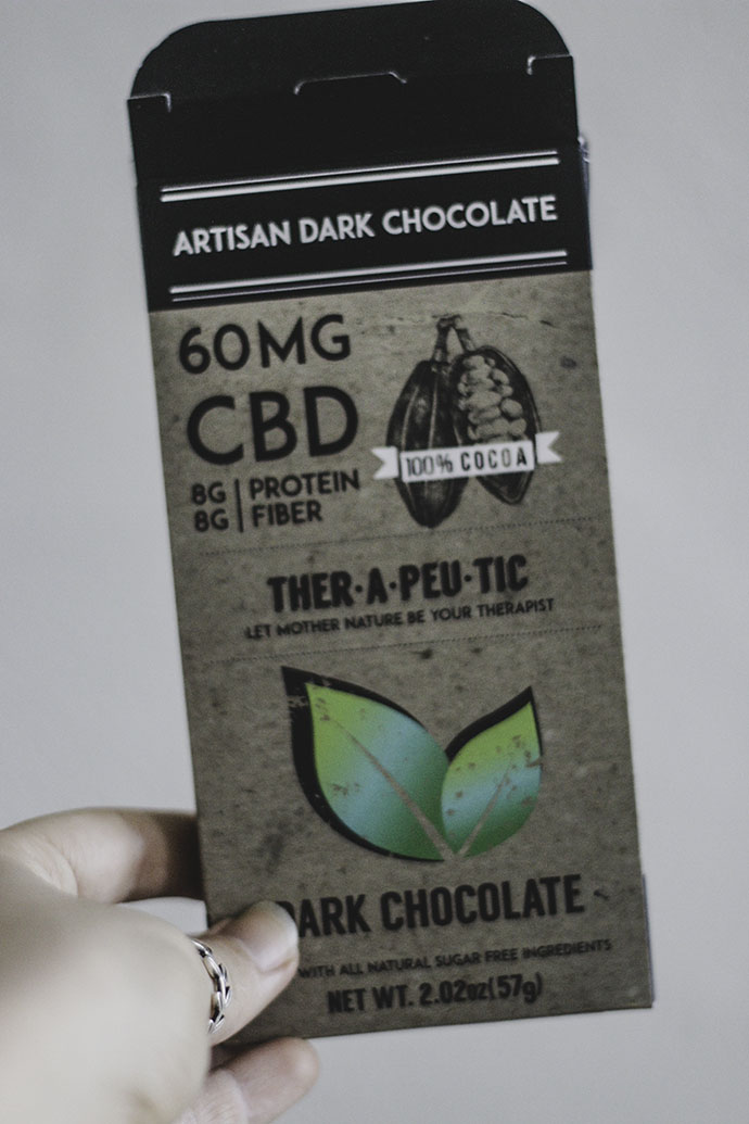 cbd chocolate dessert - 15 mg CBD oil