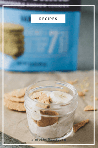 grain free banana cream pie minis