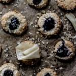 grain free thumbprint cookies