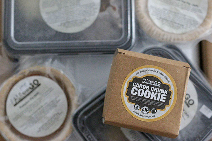 organic paleo meal delivery chunk cookies
