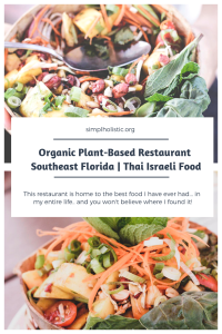 southeast florida organic restaurant - thai food