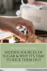 refined sugar free lifestyle