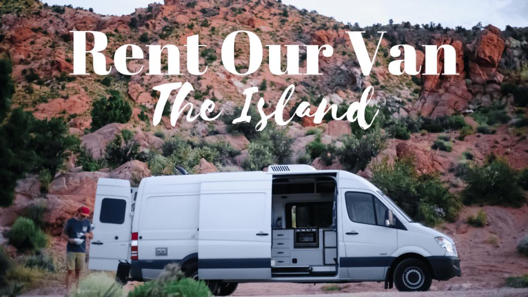 Van rental, RV rental, van tour, conversion van