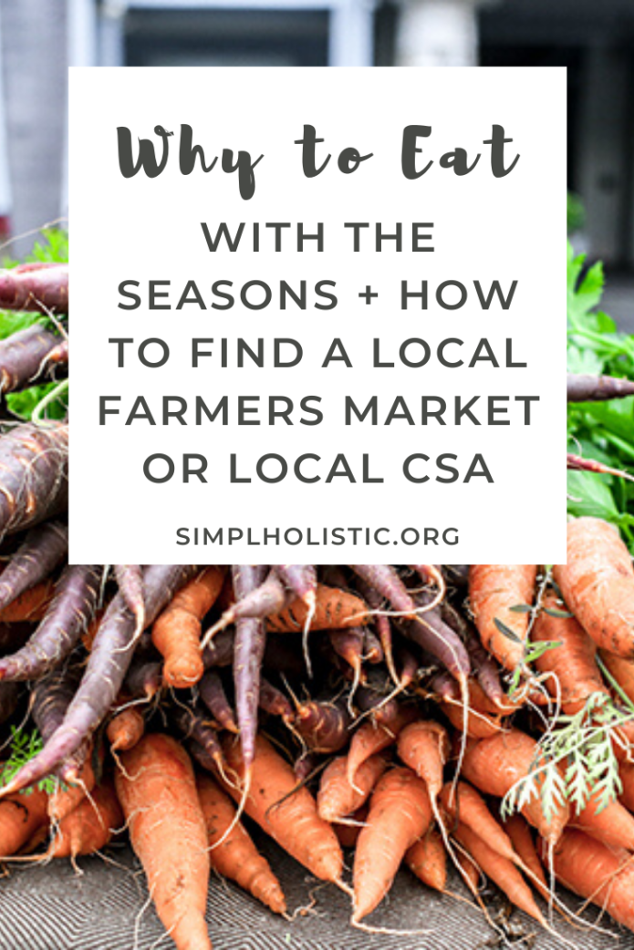 How and why to eat seasonally