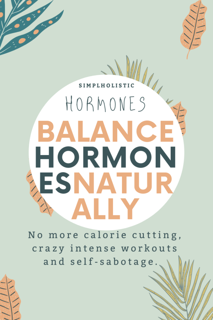 How to balance hormones naturally