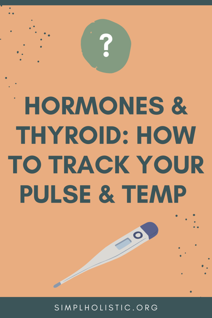 If Your Not Using your pulse and temp for hormone insights, start now!