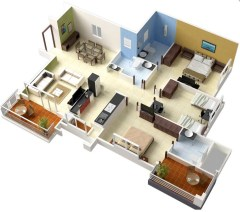 46-single-floor-3-bedroom-house-plans