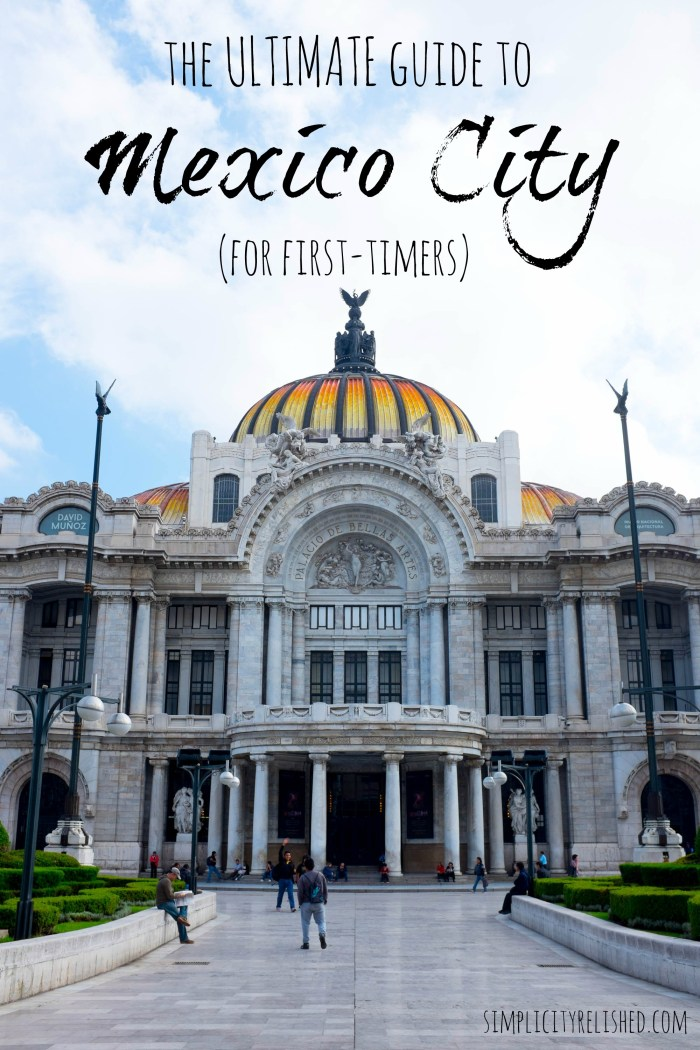 The Ultimate Guide To Mexico City (for First Timers