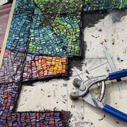 initatie mozaiek