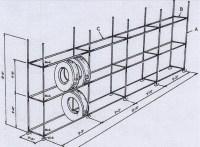 DIY tyre rack - Simplified Building