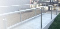 Outdoor and indoor handrail examples - Simplified Building