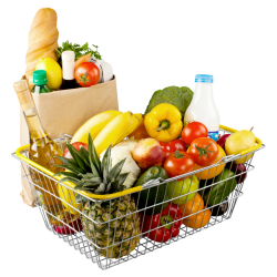 grocery background tips mart