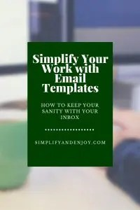 Use these templates to help you simplify your work day!