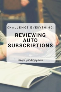 Trying to save money, but don't know where to start? Learn how to review your subscriptions to get the most for your money .