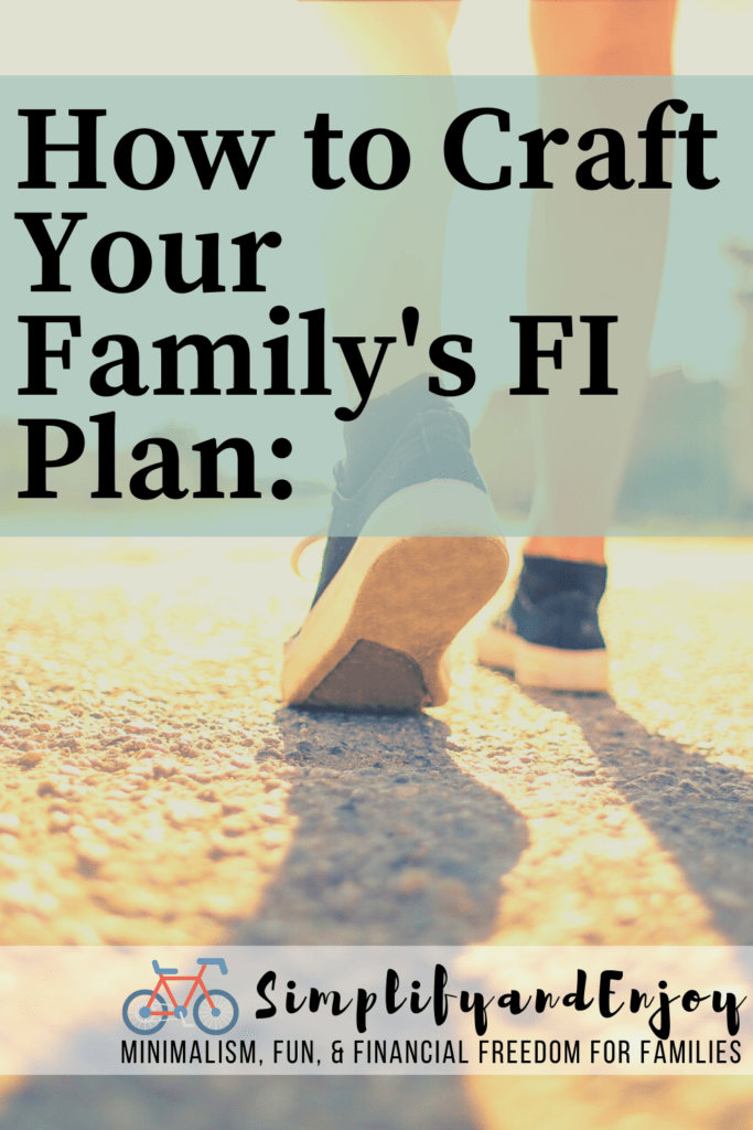 Despite popular opinion, you don't need a million dollars to be financially free. We'll go over how you can create a financial independence plan that fits your family and is actually fun! #fi #family #financialfreedom
