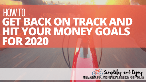 Has 2020 thrown you off your FI course? Today we're going to tackle how you can get back on and knock out a goal before the year is over!