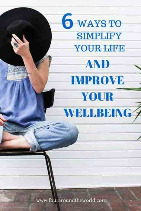 6 Ways to Simplify Your life and improve your wellbeing - R U OK Day is here and it's time to check in with others and make sure you are doing okay yourself.