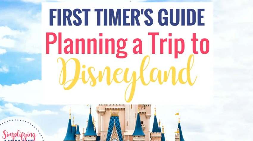 First Timers Guide - Planning a Trip to Disneyland (1)