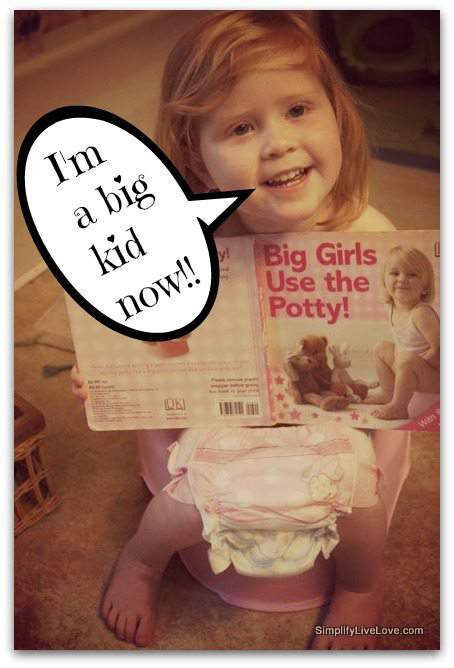 Must Know Tips for Potty Training Girls  Simplify Live Love