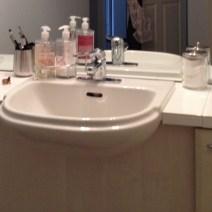 Bathroom sink - after