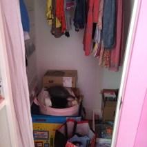 Daughters Closet - Before