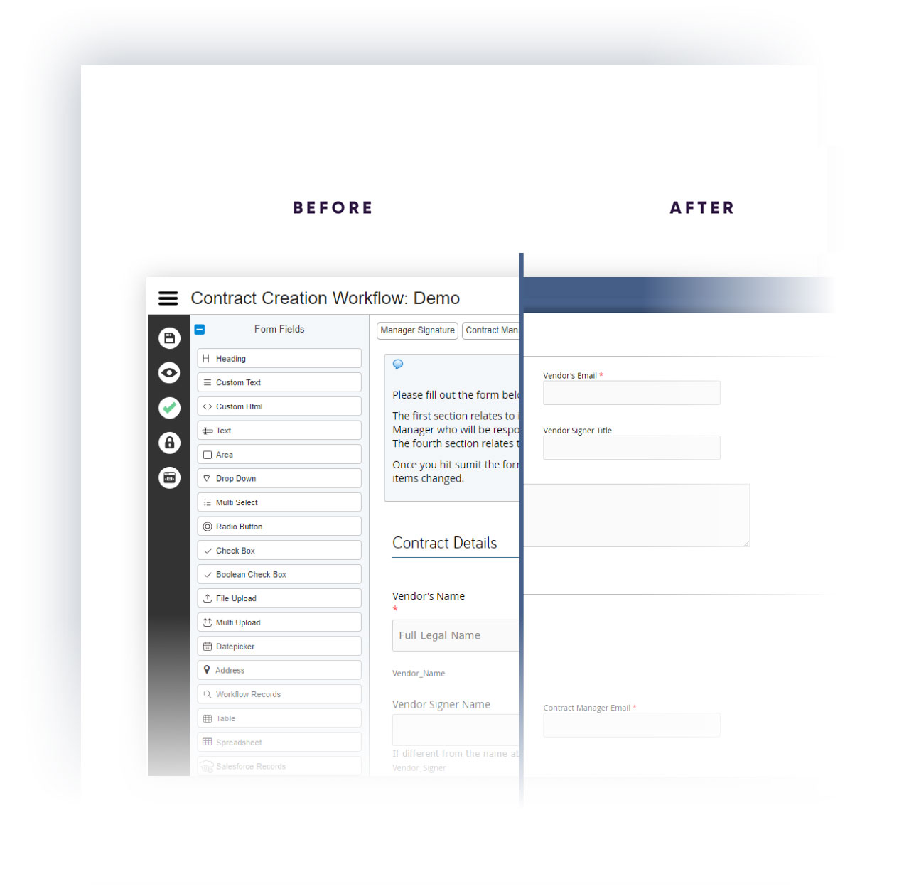 Government Automation Platform for Forms and Processes