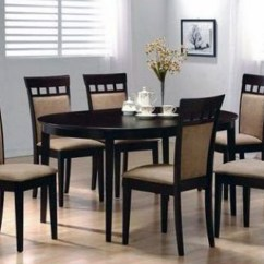Black Dining Sets With 6 Chairs Sport Brella Recliner Chair Instructions Buy Round Table And In Lagos Nigeria