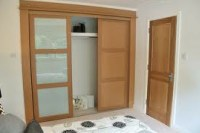Buy wooden wardrobe with sliding doors in Lagos Nigeria