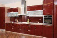 Buy red kitchen cabinet with drawers and doors in Lagos ...