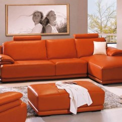 Orange Color Sofa Sets Dog Bed Costco Buy Leather Set In Lagos Nigeria