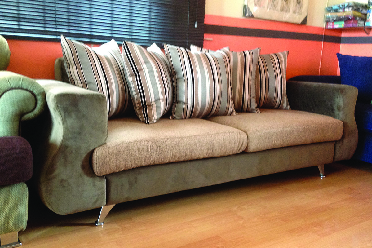 long sofa chair brown leather patch for buy in lagos nigeria
