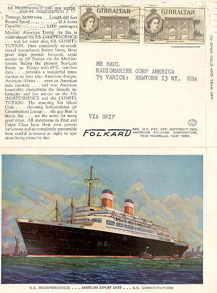 Independence Ocean Liner and Cruise Ship Independence Postcards and Photographs