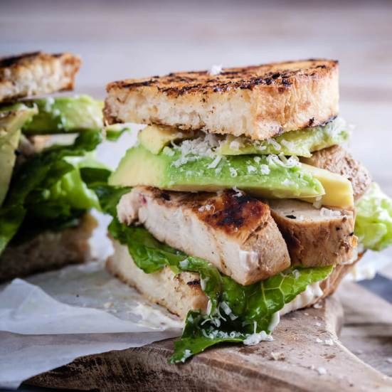 Image result for Chicken Caesar Sandwich