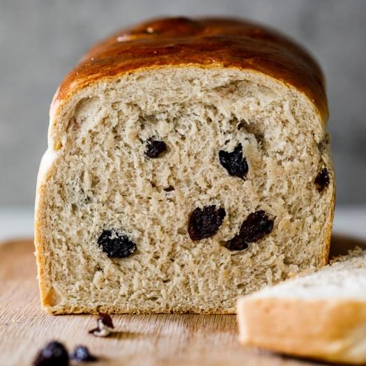 Easy Cinnamon Raisin bread - Simply Delicious