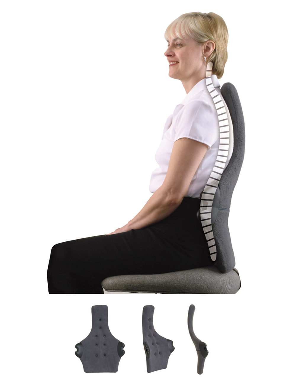 Back Supports For Chairs Therapeutica Spinal Back Support