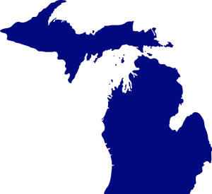 pixabay Michigan map