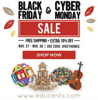 The Black Friday Guide – Shopping for Educational Gifts for Kids on Educents