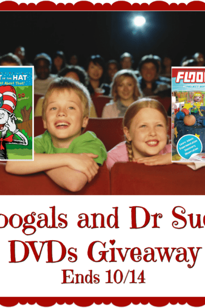 Welcome to the Floogals and Dr. Suess DVDs Giveaway Ends 10/14
