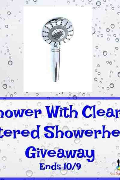 Welcome to the Shower With Clearly Filtered Showerhead Giveaway Ends 10/9