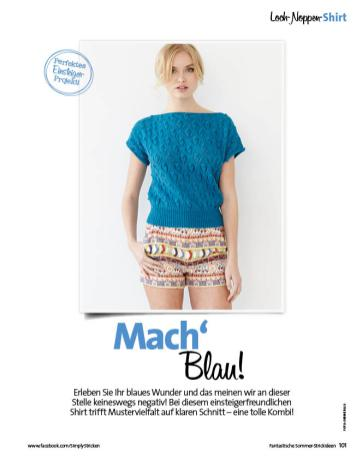 Strickanleitung Lace and Knot Top Fantastische Sommerstrickideen 0316