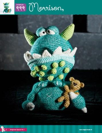 Morrisson das Monster – Fantastische Häkelideen Monster Amigurumi Vol. 5