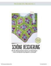 Häkelanleitung Grüne Tannenbaum-Decke Fantastische Häkel-Mode-Ideen 0515