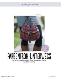 Lila Umhängetasche Fantastische Häkel-Mode-Ideen 0515
