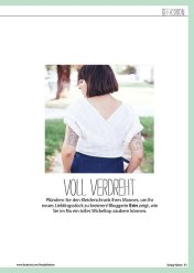 Refashion: weißes Cropped-Top – Simply Nähen 0415