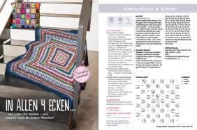 Häkel-Anleitung Granny Decke Kissen Beileger Simply Häkeln 0615