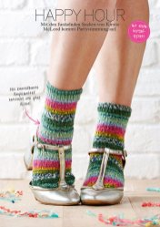 Strickanleitung bunte Socken Simply Stricken 0216