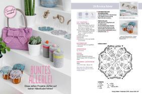 Häkel-Anleitung Buntes Allerlei Beileger Simply Häkeln 0615