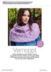 Strickanleitung Mini Poncho mit Noppen Simply Stricken 0316