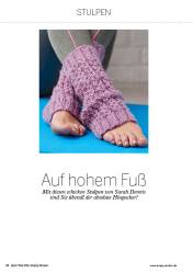 Strickanleitung Stulpen Simply Stricken 0316
